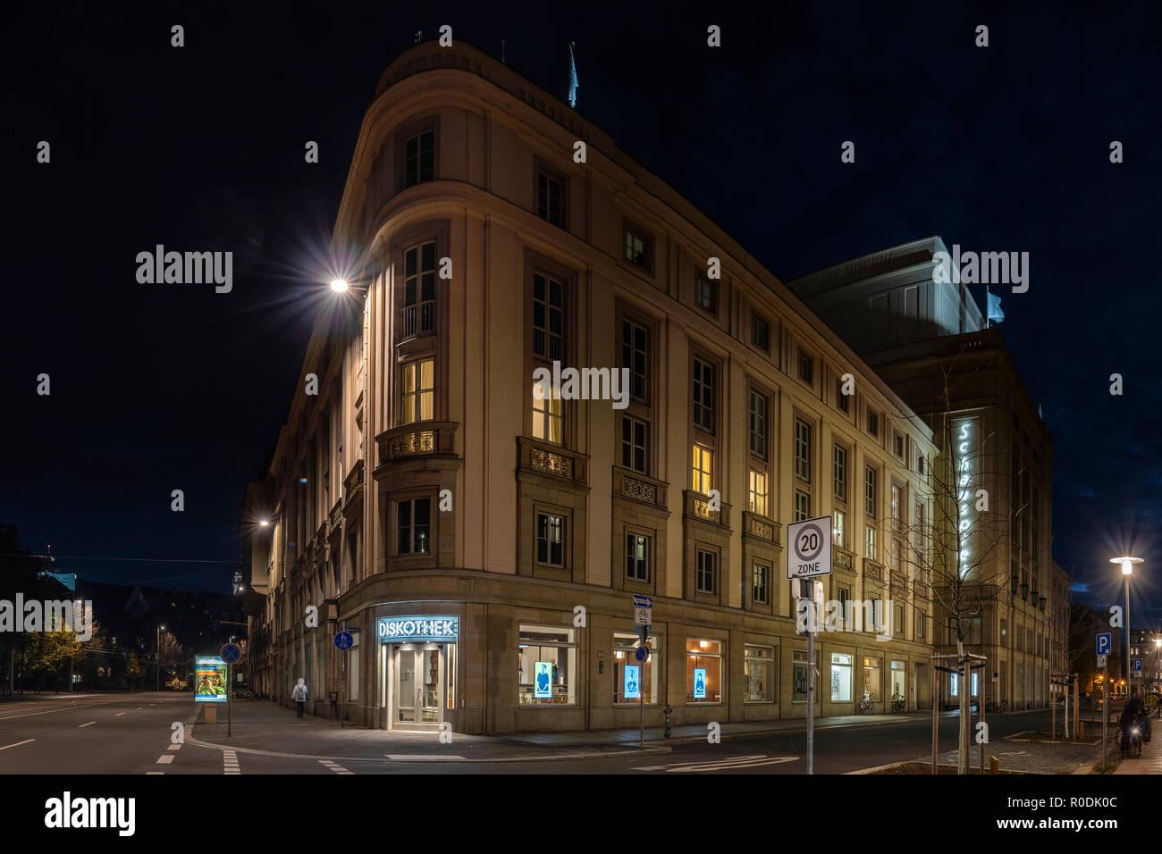 Leipzig, Schauspiel - Stock Image
