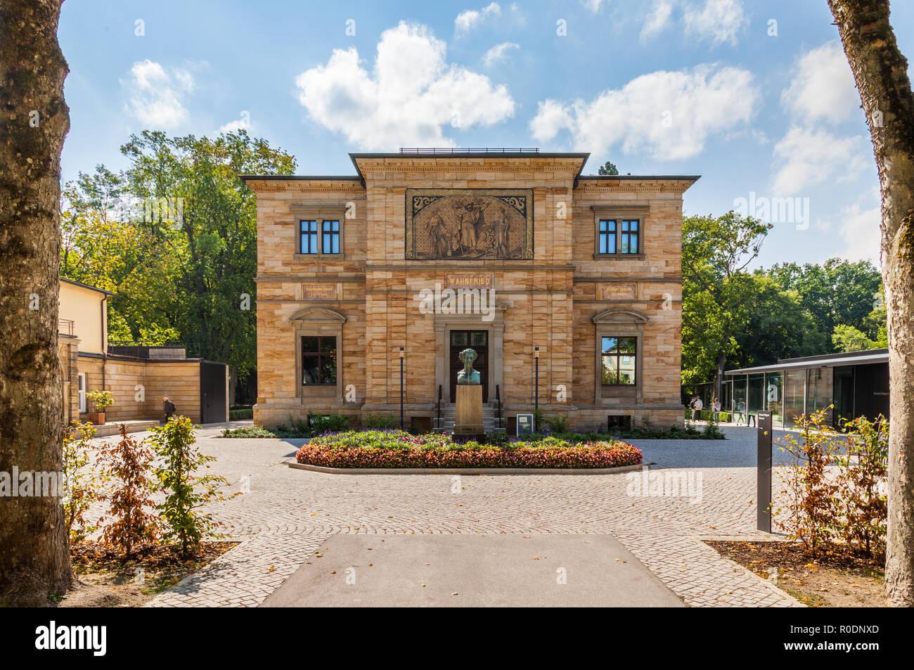 Villa Wahnfried, Bayreuth, Germany - Stock Image