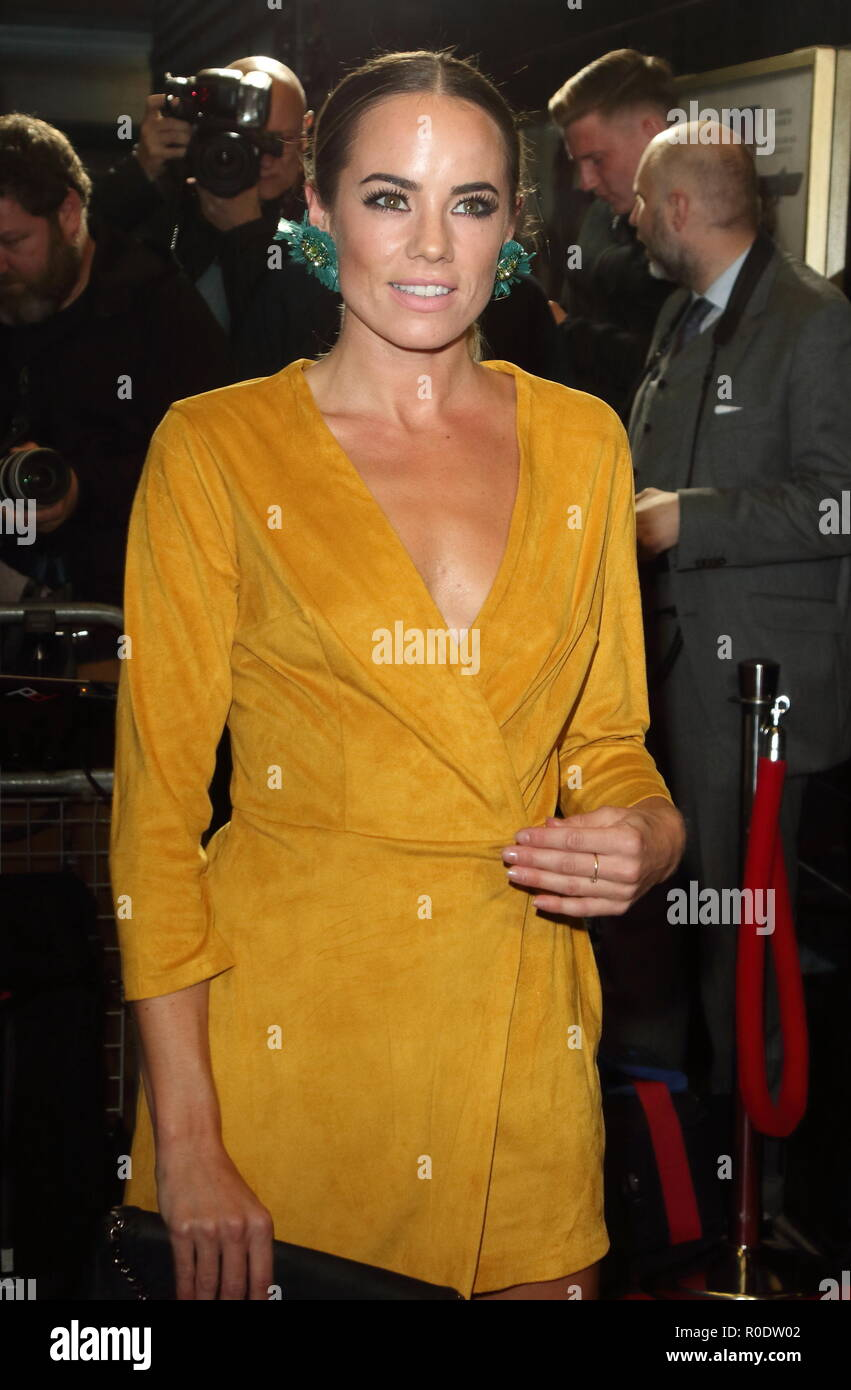 Johnny English Strikes Again Special Screening at Curzon Mayfair, London  Featuring: Emma Conybeare Where: London, United Kingdom When: 03 Oct 2018 Credit: WENN.com - Stock Image