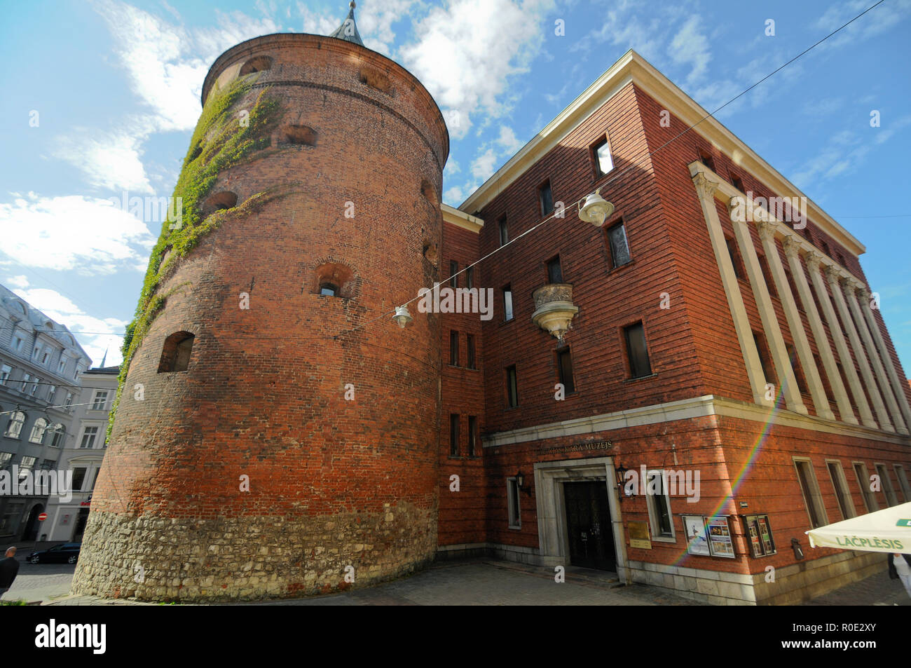Latvian War Museum, Riga - Stock Image