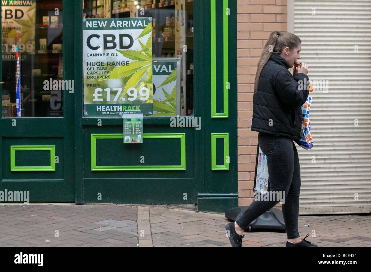 Health Rack commercial sales of Cannabidiol (CBD), marijuana