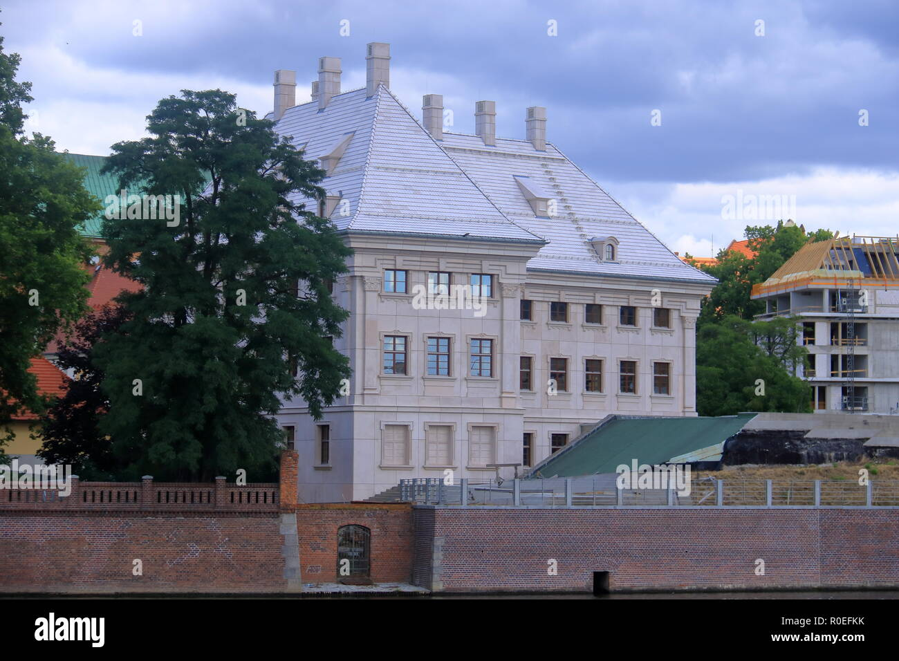 The beautiful City of Wroclaw in Poland Stock Photo