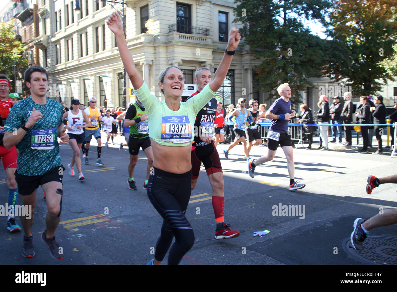 New York New York Usa 4th Nov  Tcs New York City Marathon Had More Than 50000 Parti Nts The Runners Go Through The Five Boroughs And