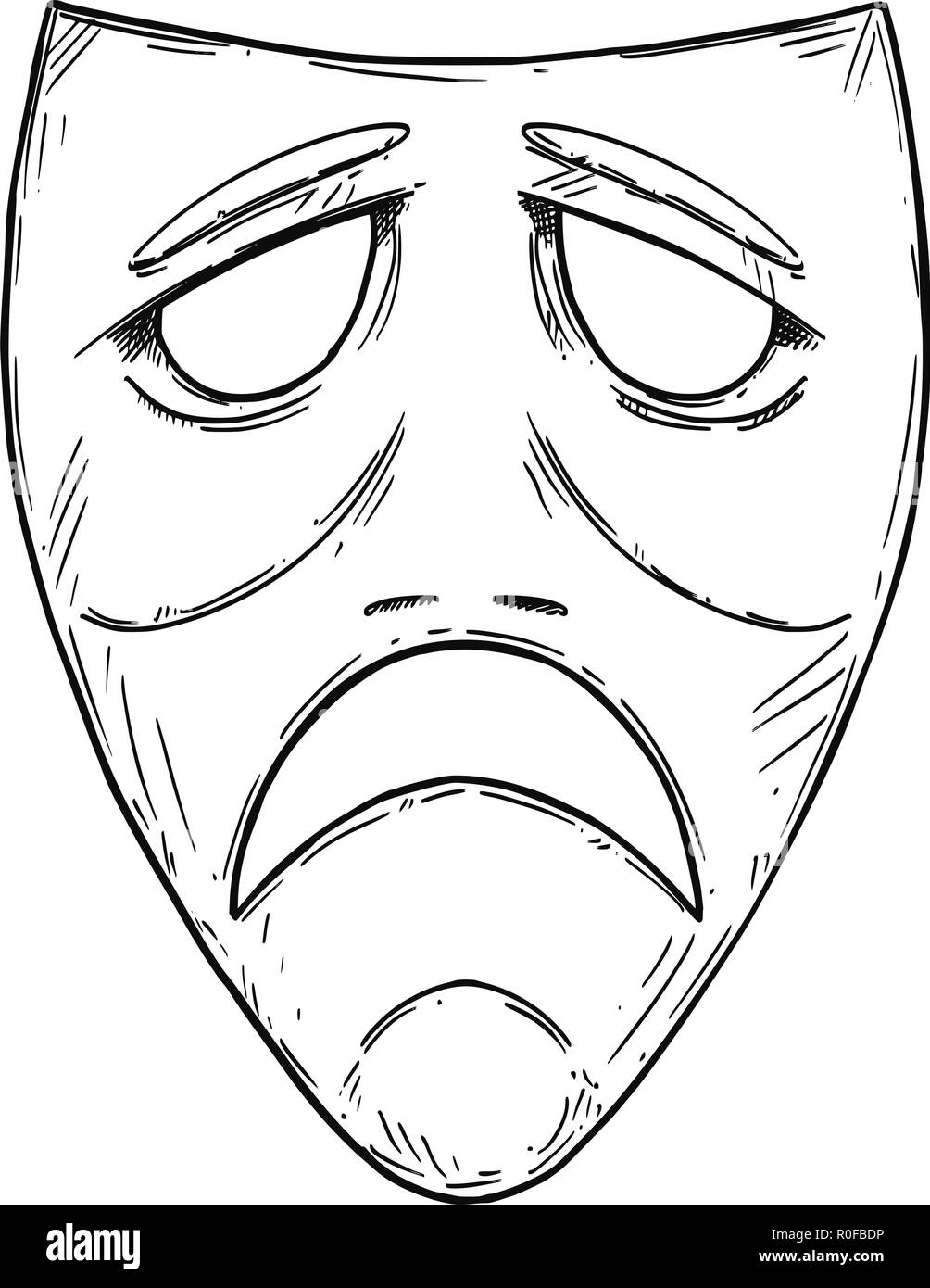Drawing Of The Art Mask