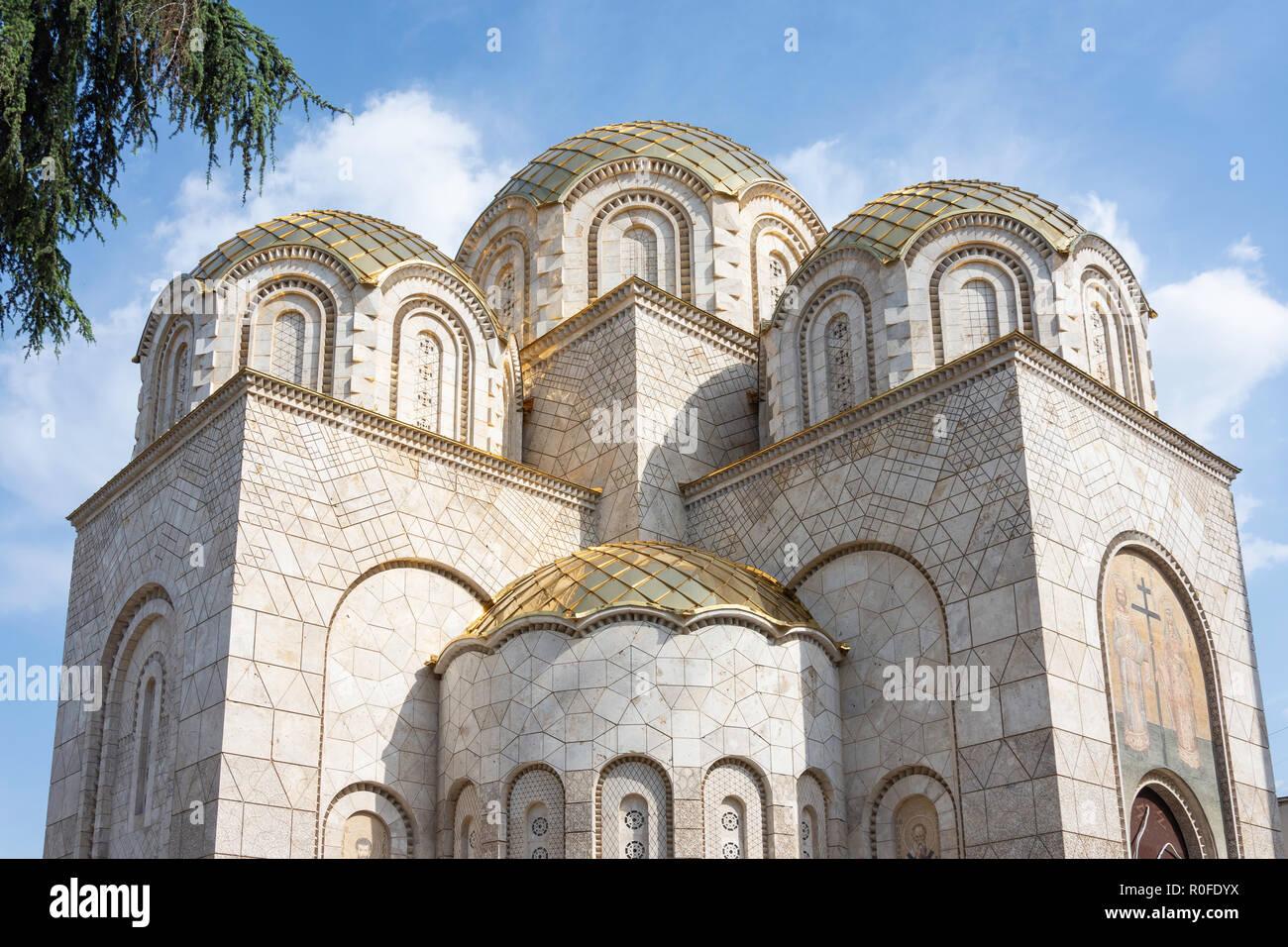 St. Constantine and Elena Church, Macedonia Street, Skopje, Skopje Region, Republic of Macedonia - Stock Image