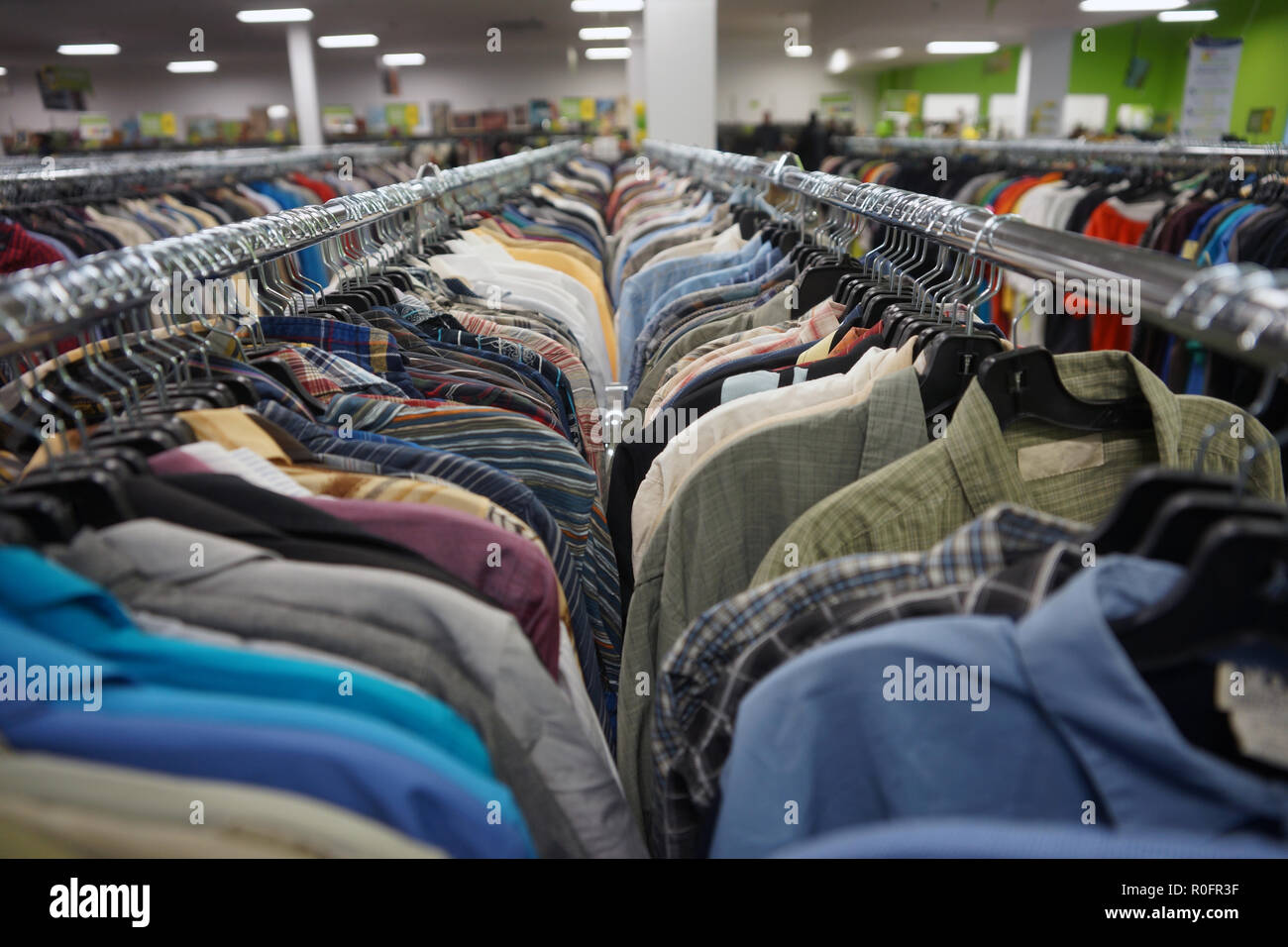 6e52754d911 Used Clothing Store Stock Photos   Used Clothing Store Stock Images ...