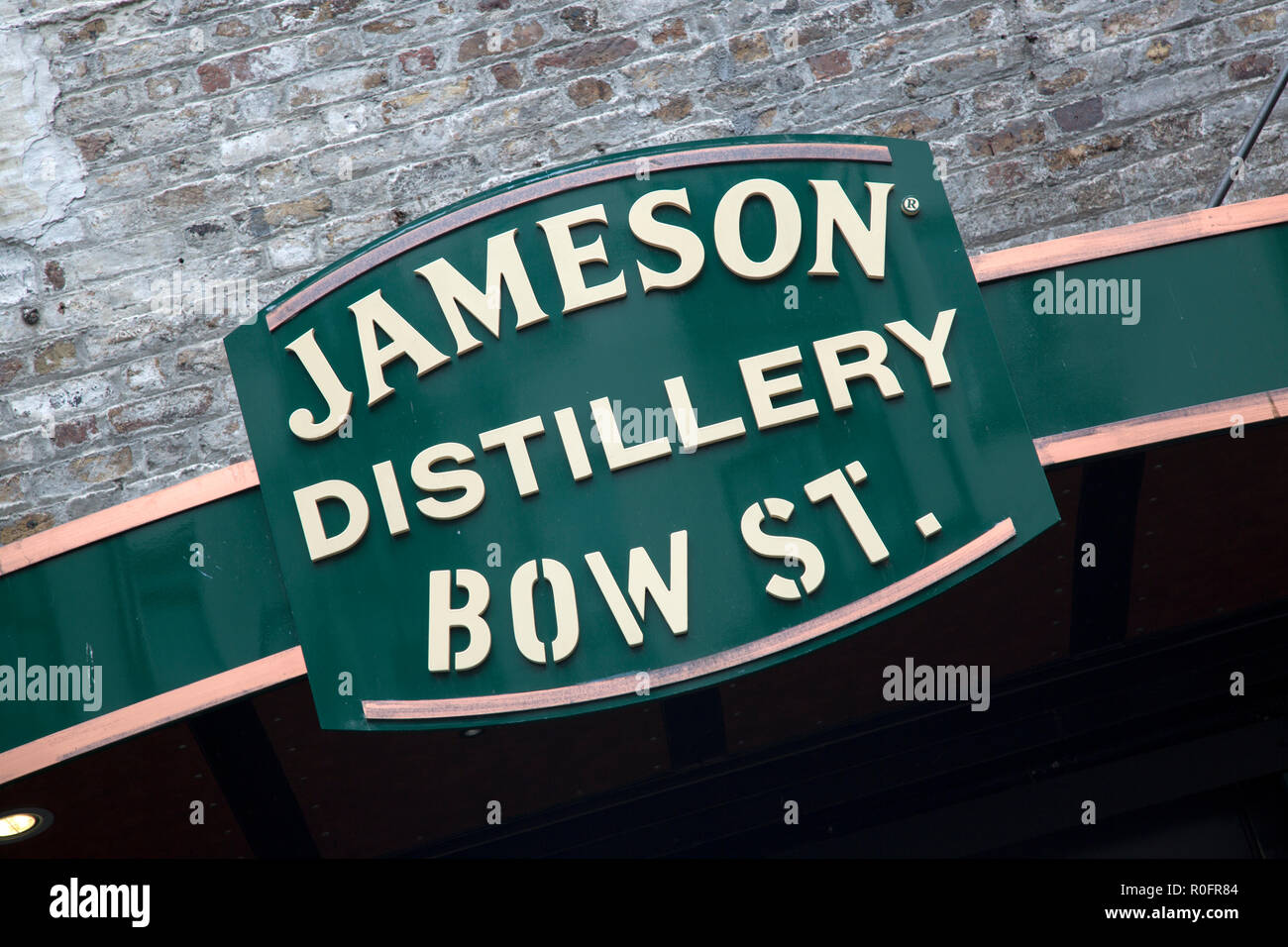 Jameson Irish Whiskey Distillery Bow Street Dublin Ireland