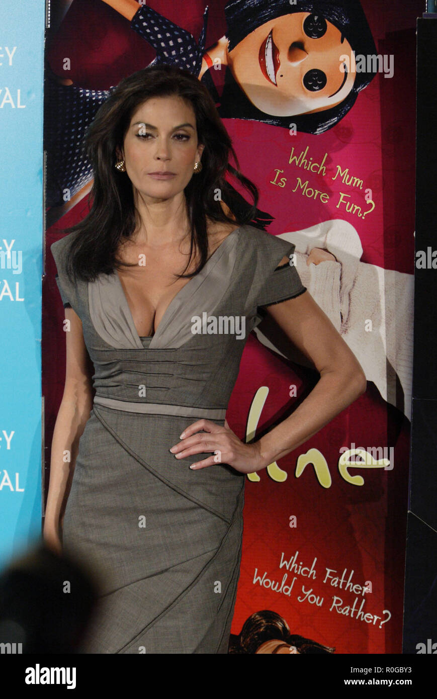 Teri Hatcher Attends The Premiere Of Coraline With Her Daughter Emerson Hatcher As Part Of The Sydney Film Festival Sydney Australia 10 06 09 Stock Photo Alamy