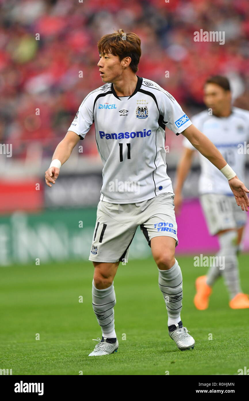 Hwang Ui Jo Gamba November 3 2018 Football Soccer 2018 J1 League Match Between Urawa Red Diamonds 1 3 Gamba Osaka At Saitama Stadium 2002 In Saitama Japan Photo By Aflo Stock Photo Alamy
