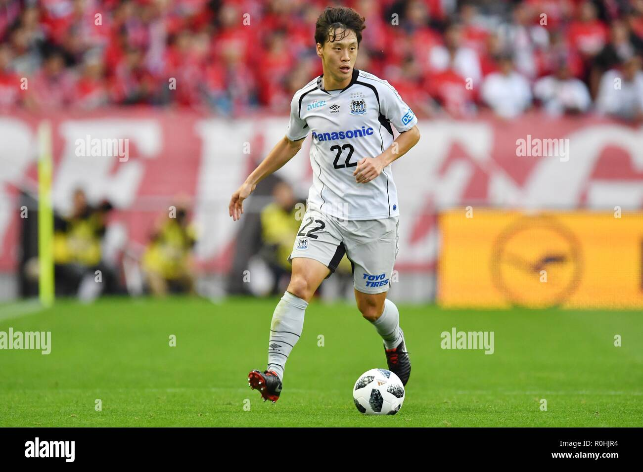 Oh Jae Suk Gamba November 3 2018 Football Soccer 2018 J1 League Match Between Urawa Red Diamonds 1 3 Gamba Osaka At Saitama Stadium 2002 In Saitama Japan Photo By Aflo Stock Photo Alamy