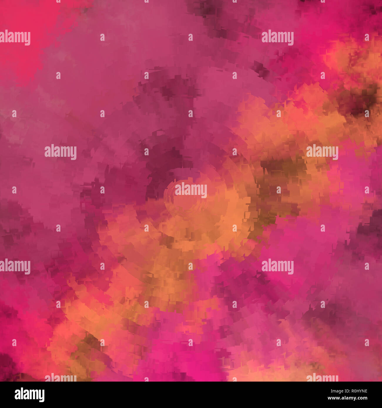 Splash Colorful Room Wall: Abstract Color Powder Splatted. Colorful Powder Splash For