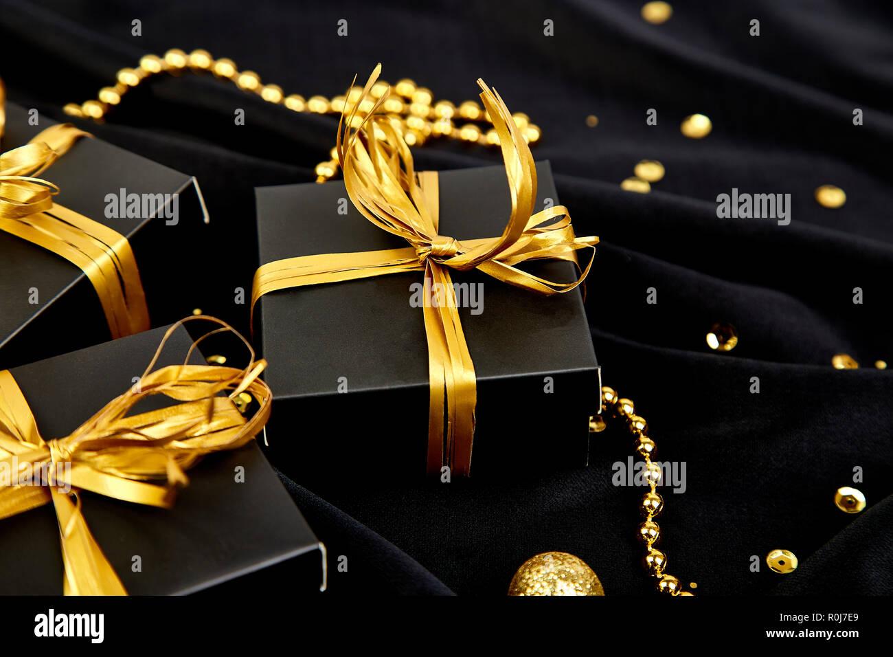 black ribbon and gold stock photos black ribbon and gold stock