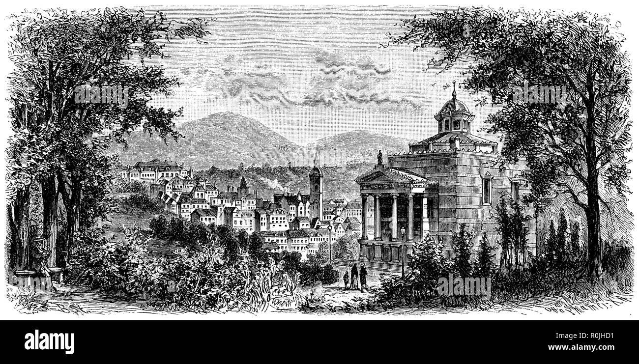Baden-Baden, - Stock Image