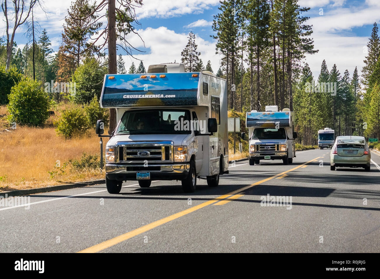 Rv For Rent Stock Photos Amp Rv For Rent Stock Images Alamy