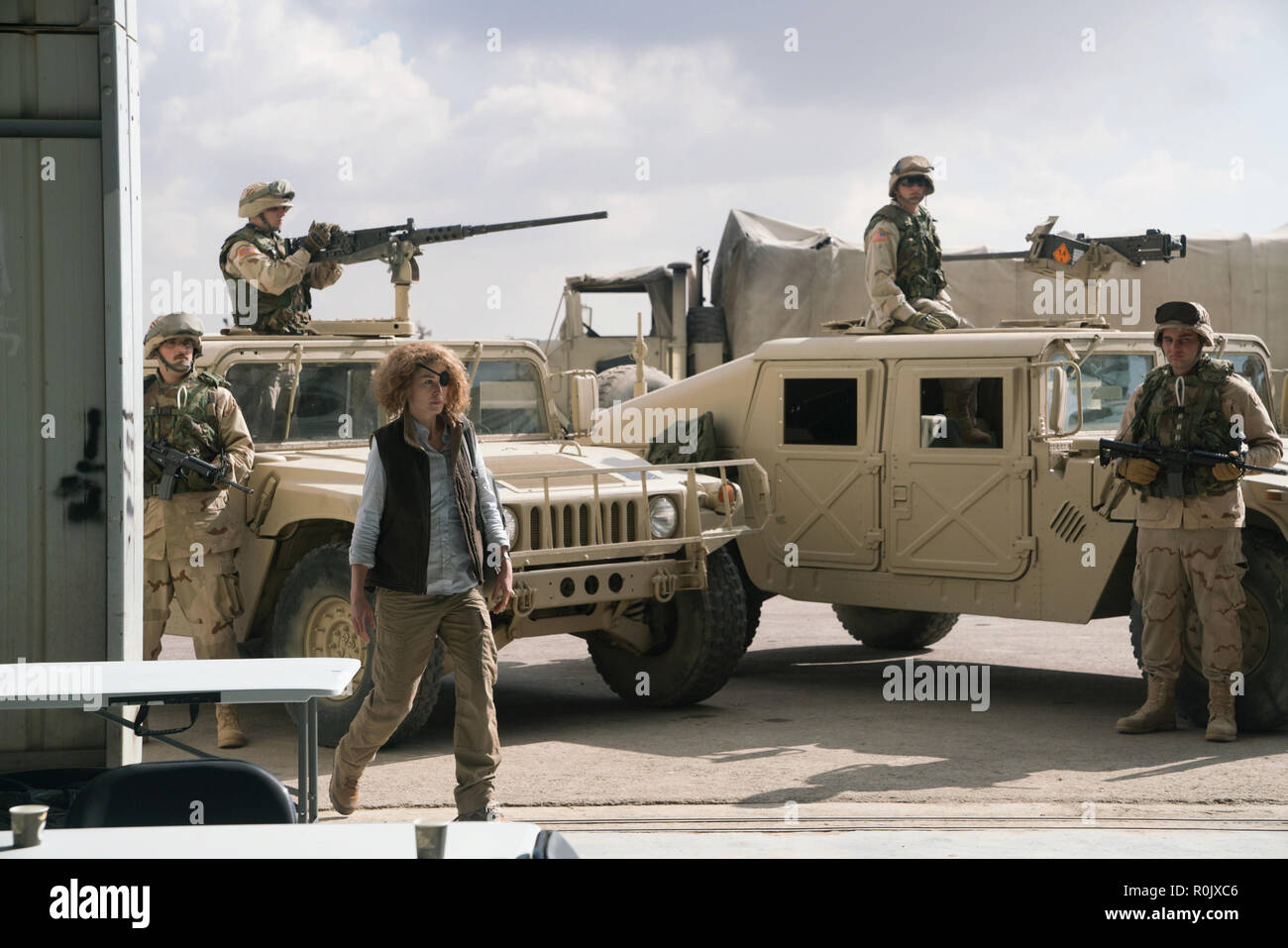 Rosamund Pike 'A Private War' (2018) (Credit Photo: Aviron Pictures / The Hollywood Archive) - Stock Image