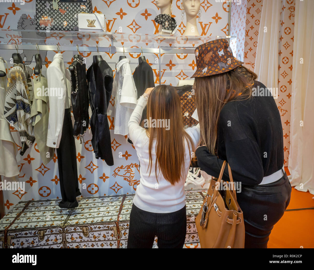 Louis Vuitton Lvmh Luxury Clothing Store Stock Photos Louis
