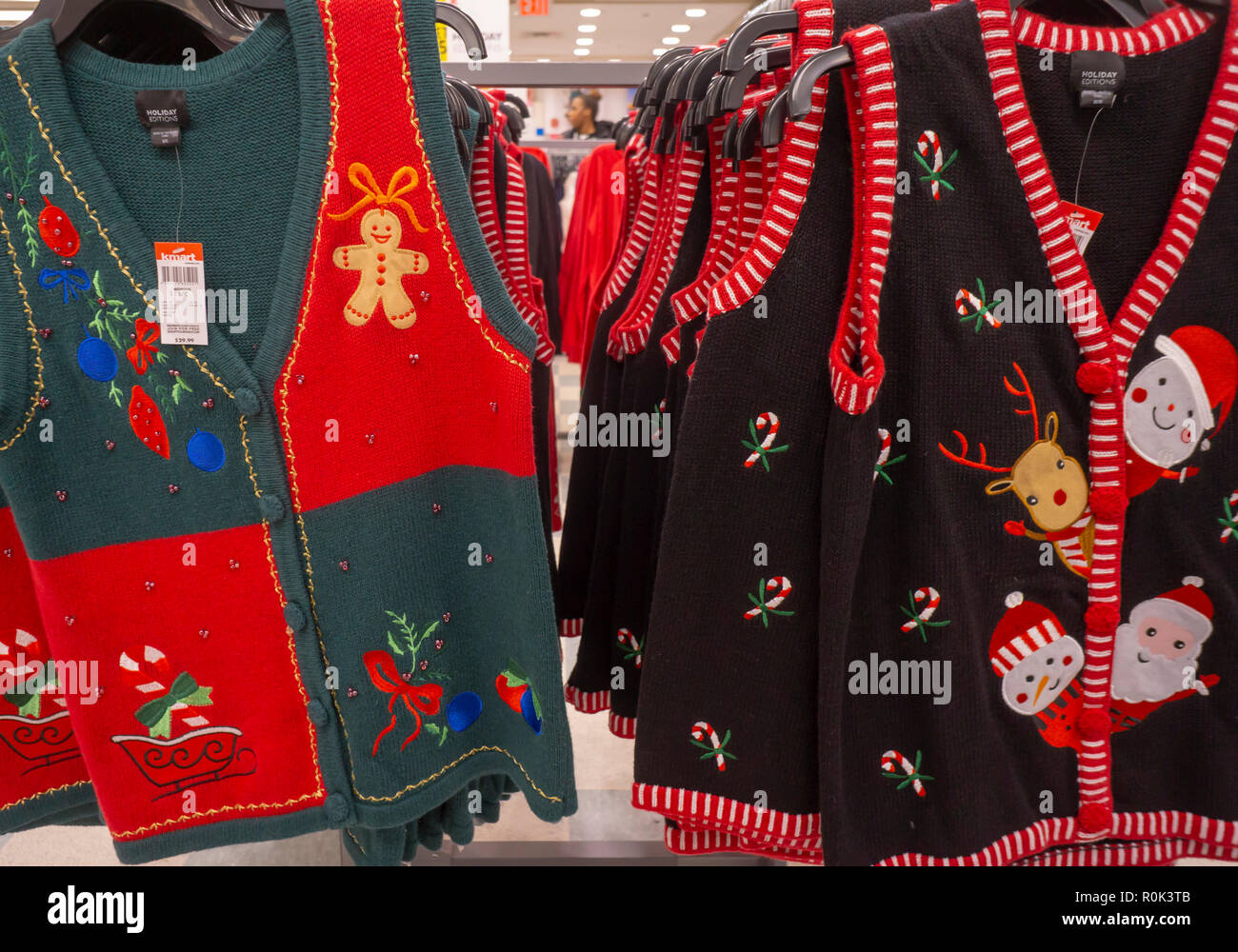 Ugly Christmas Sweaters Stock Photos & Ugly Christmas Sweaters Stock ...