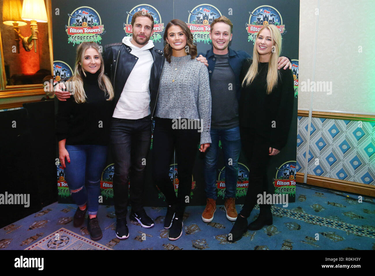 7c812f9478f2 Alton Towers Scarefest celebrity preview Featuring  Jazmine Franks ...