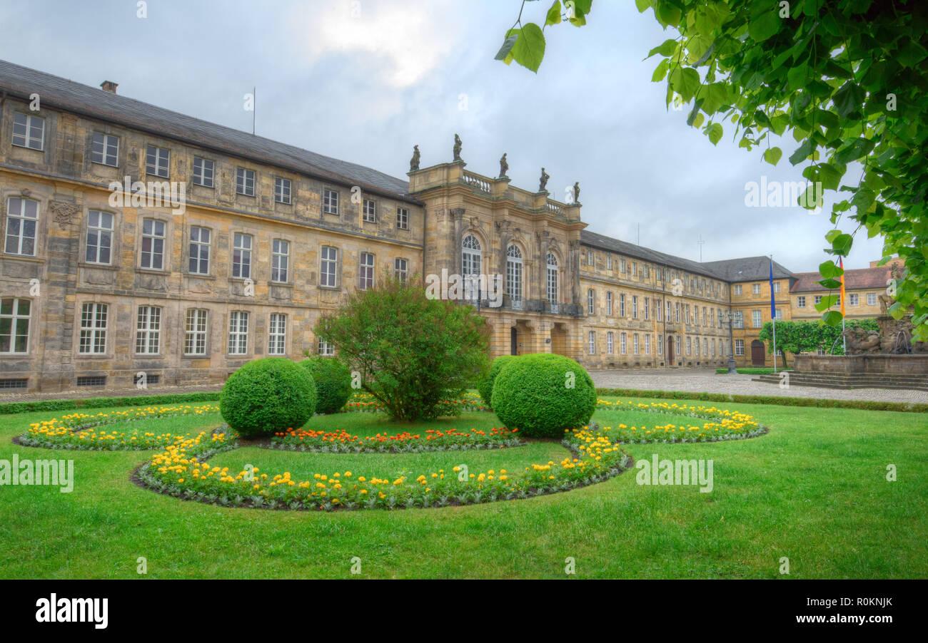 Bayreuth Neues Schloss - Bayreuth New Palace - Stock Image