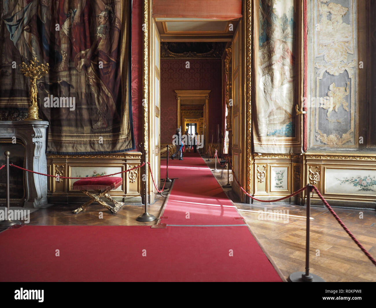 TURIN, ITALY - CIRCA OCTOBER 2018: Palazzo Reale (meaning