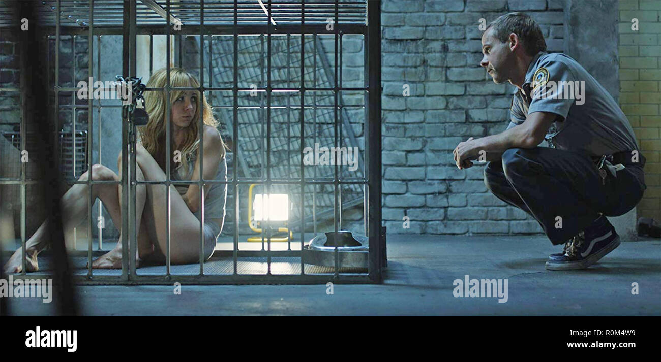PET 2016 Cine365 Films production with Ksenia Solo and Dominic Monaghan - Stock Image