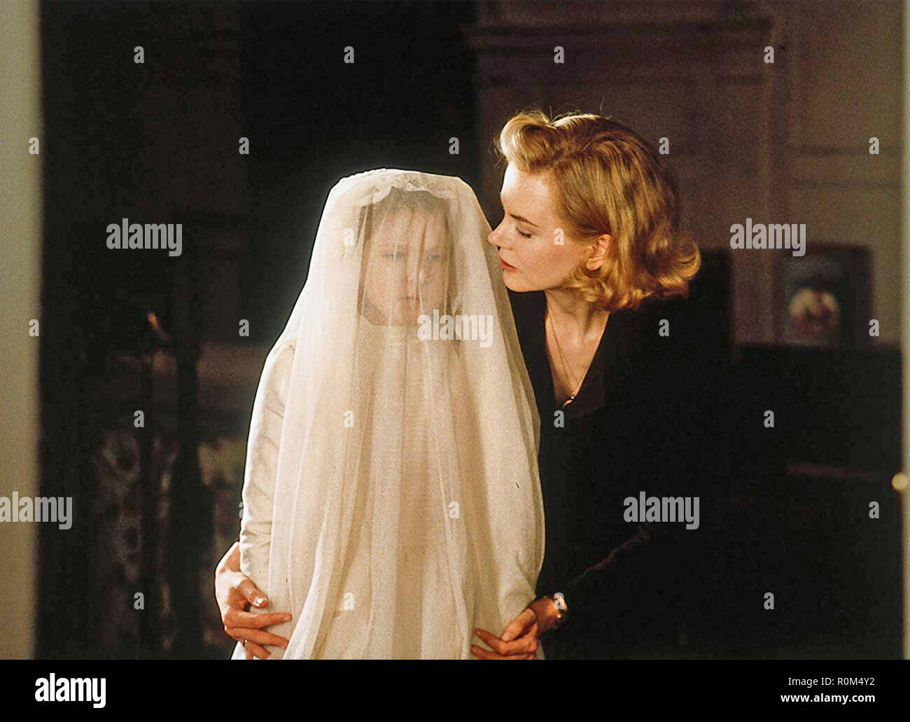 THE OTHERS 2001 Cruise/Warner Productions film with Nicole Kidman - Stock Image