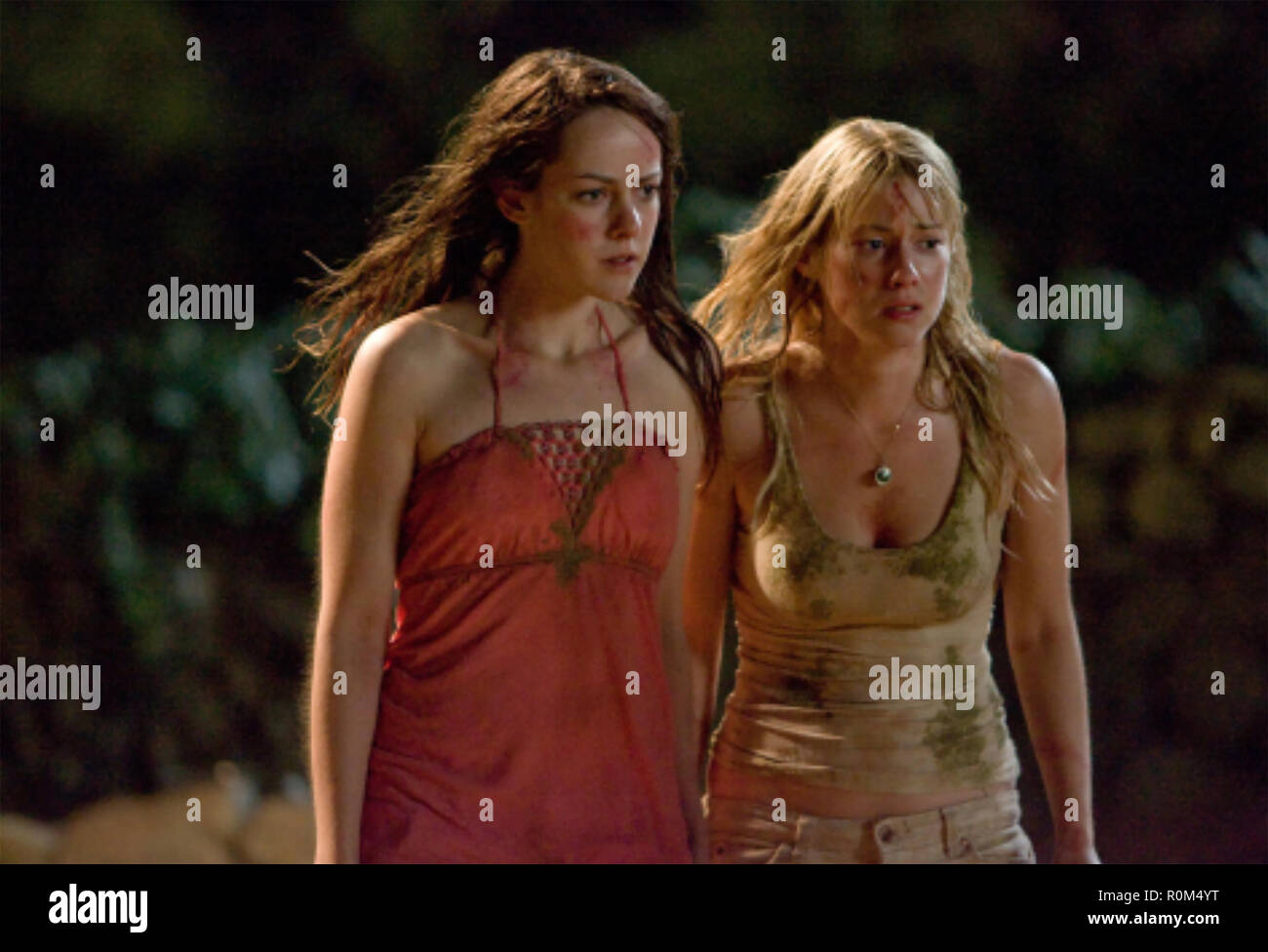 THE RUINS 2008 DreamWorks Pictures film with Jena Malone at left and Laura Ramsewy - Stock Image