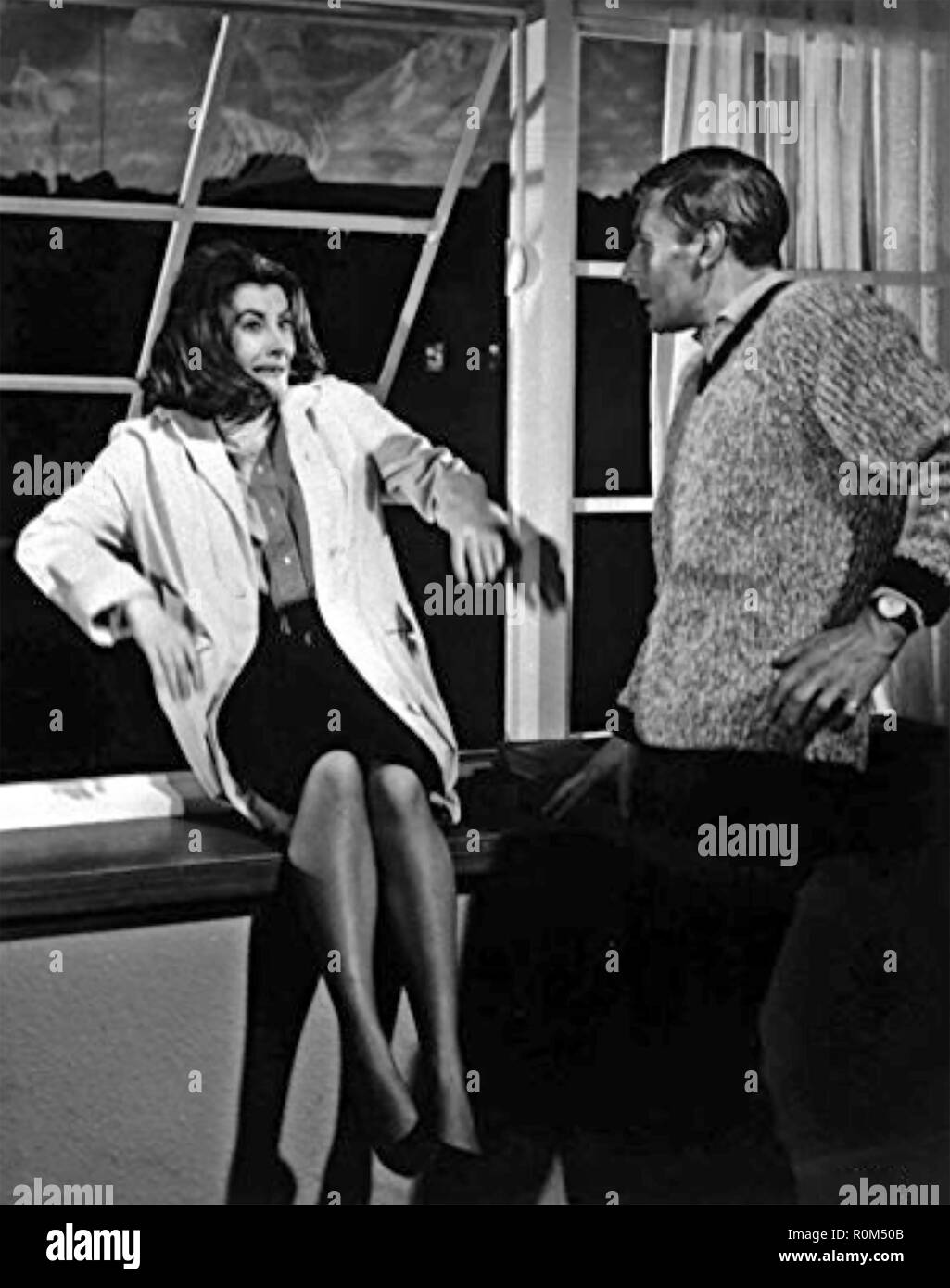 UNEARTHLY STRANGER 1963 Independent Artists film with Jean Marsh - Stock Image