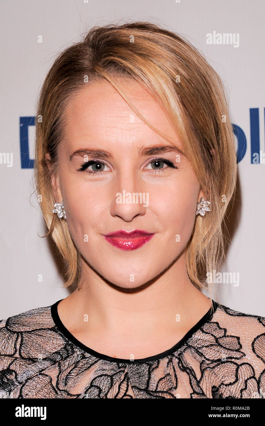 New York, USA. 5th Nov 2018. Jeanna DeWaal attends the 2018 Only Make Believe Gala at The Schoenfeld Theatre on November 5, 2018 in New York City. Credit: Ron Adar/Alamy Live News Stock Photo