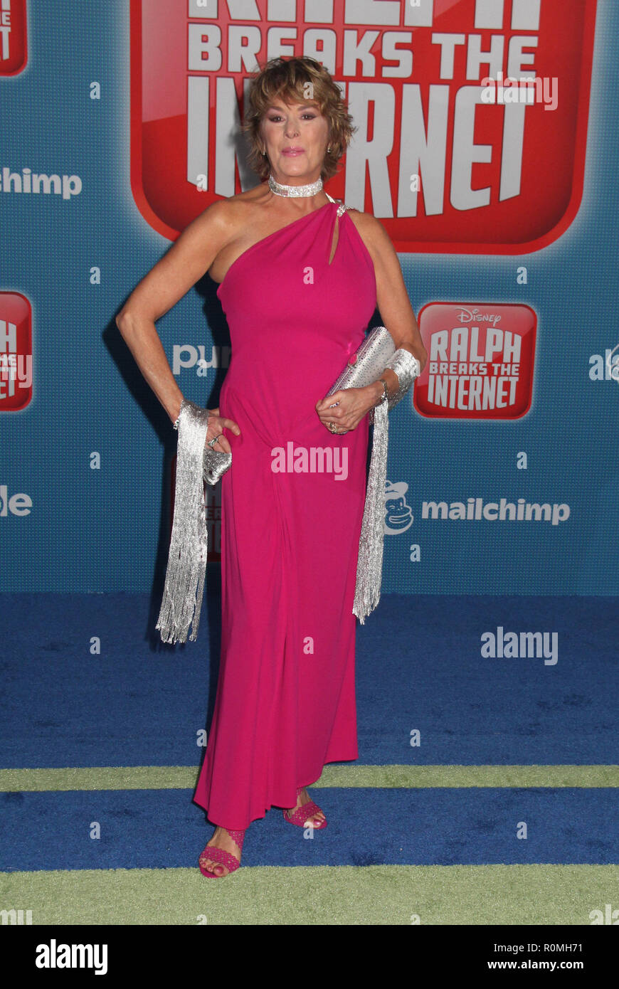 Los Angeles, USA. 5th Nov 2018. Paige O'hara  11/05/2018 The World Premiere of 'Ralph Breaks the Internet' held at El Capitan Theatre in Los Angeles, CA Photo by Hiro Katoh / HNW / PictureLux Credit: PictureLux / The Hollywood Archive/Alamy Live News - Stock Image