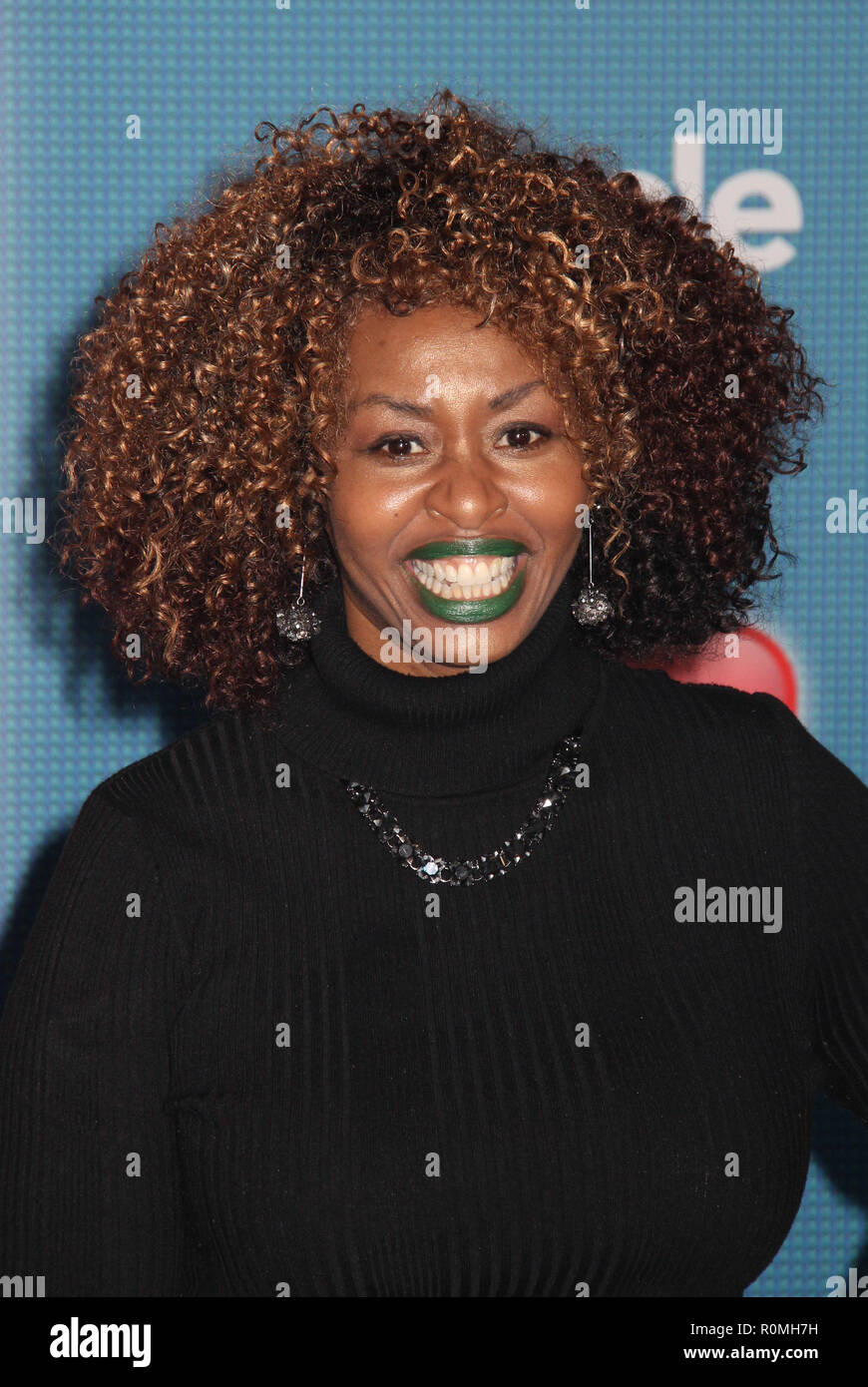Los Angeles, USA. 5th Nov 2018. Glozell Green  11/05/2018 The World Premiere of 'Ralph Breaks the Internet' held at El Capitan Theatre in Los Angeles, CA Photo by Hiro Katoh / HNW / PictureLux Credit: PictureLux / The Hollywood Archive/Alamy Live News - Stock Image