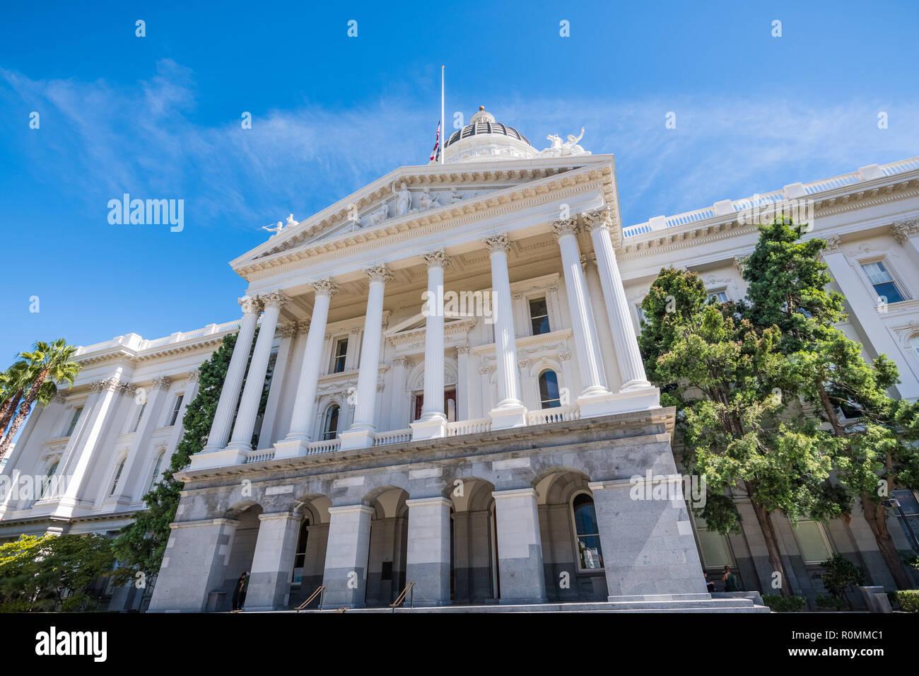 California State Capitol building, Sacramento, California Stock Photo