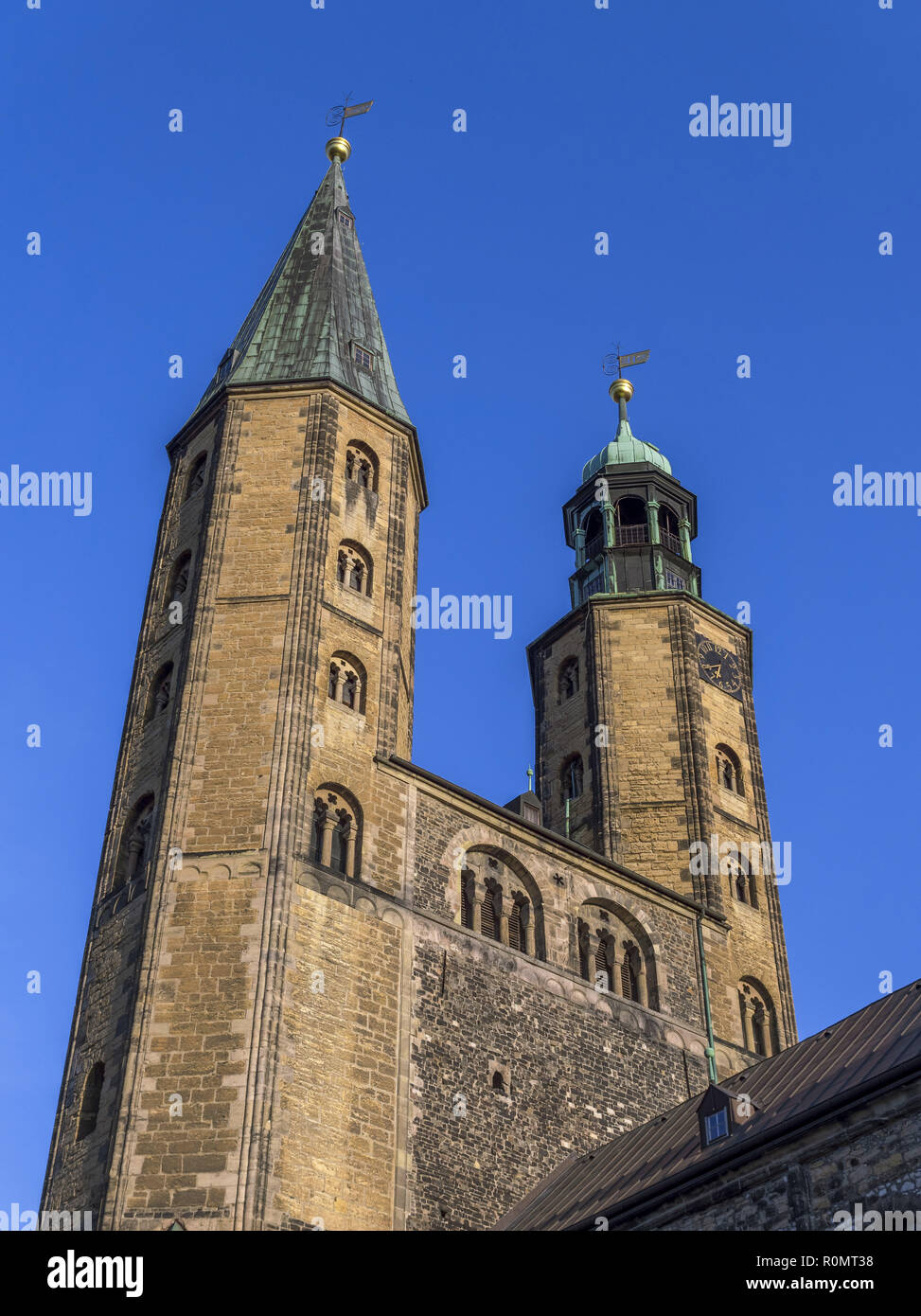 Church St. Cosmas and Damian in Goslar, Germany - Stock Image