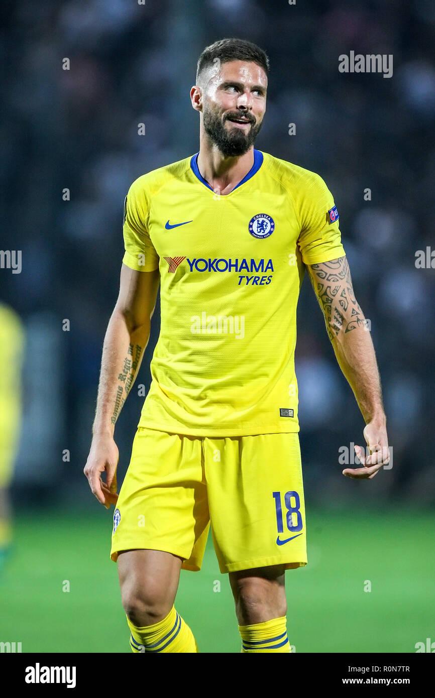 quality design bd1d8 611b5 Thessaloniki, Greece - Sept 20, 2018: Player of Chelsea ...