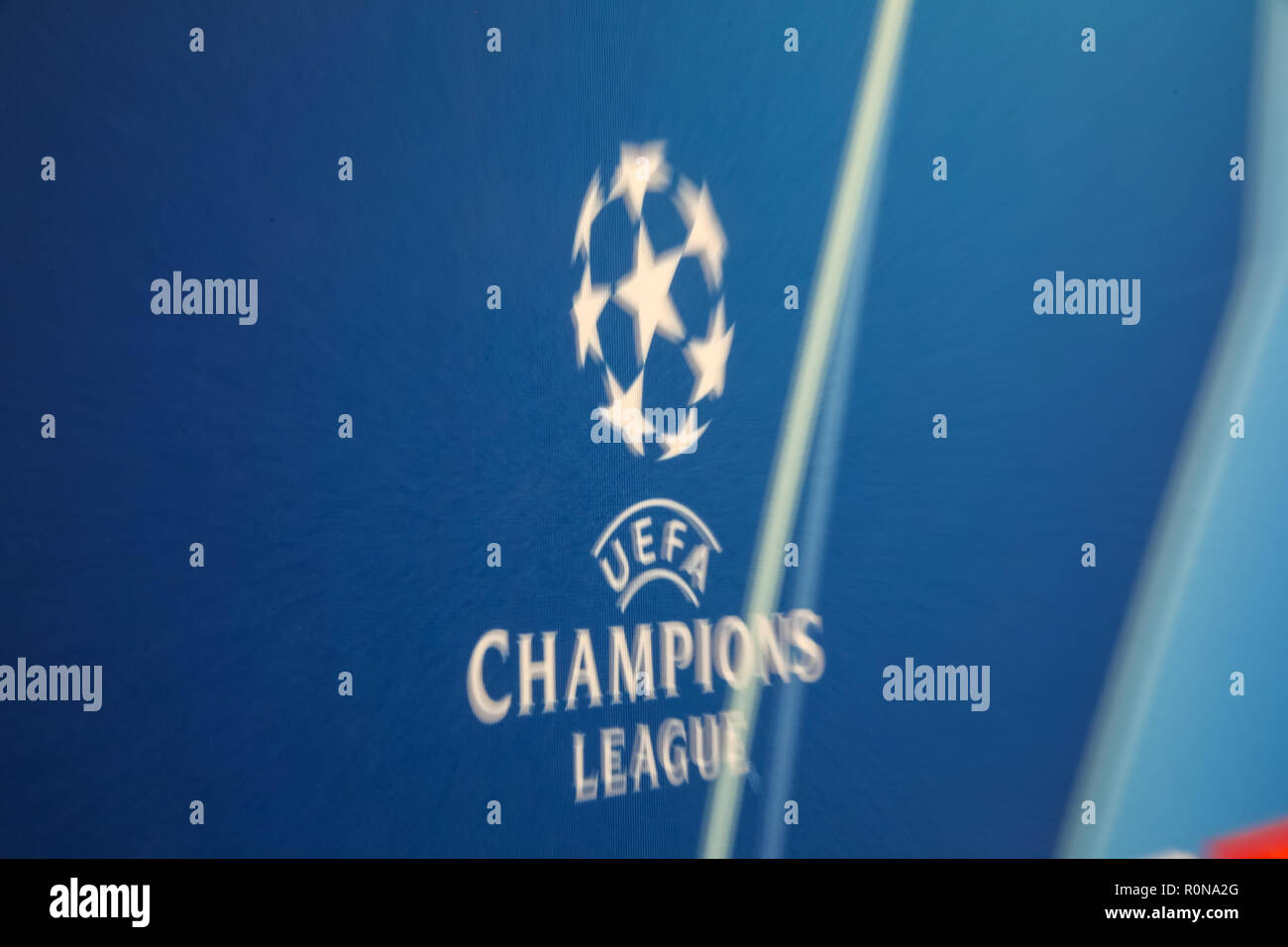 page 3 champions league logo high resolution stock photography and images alamy alamy