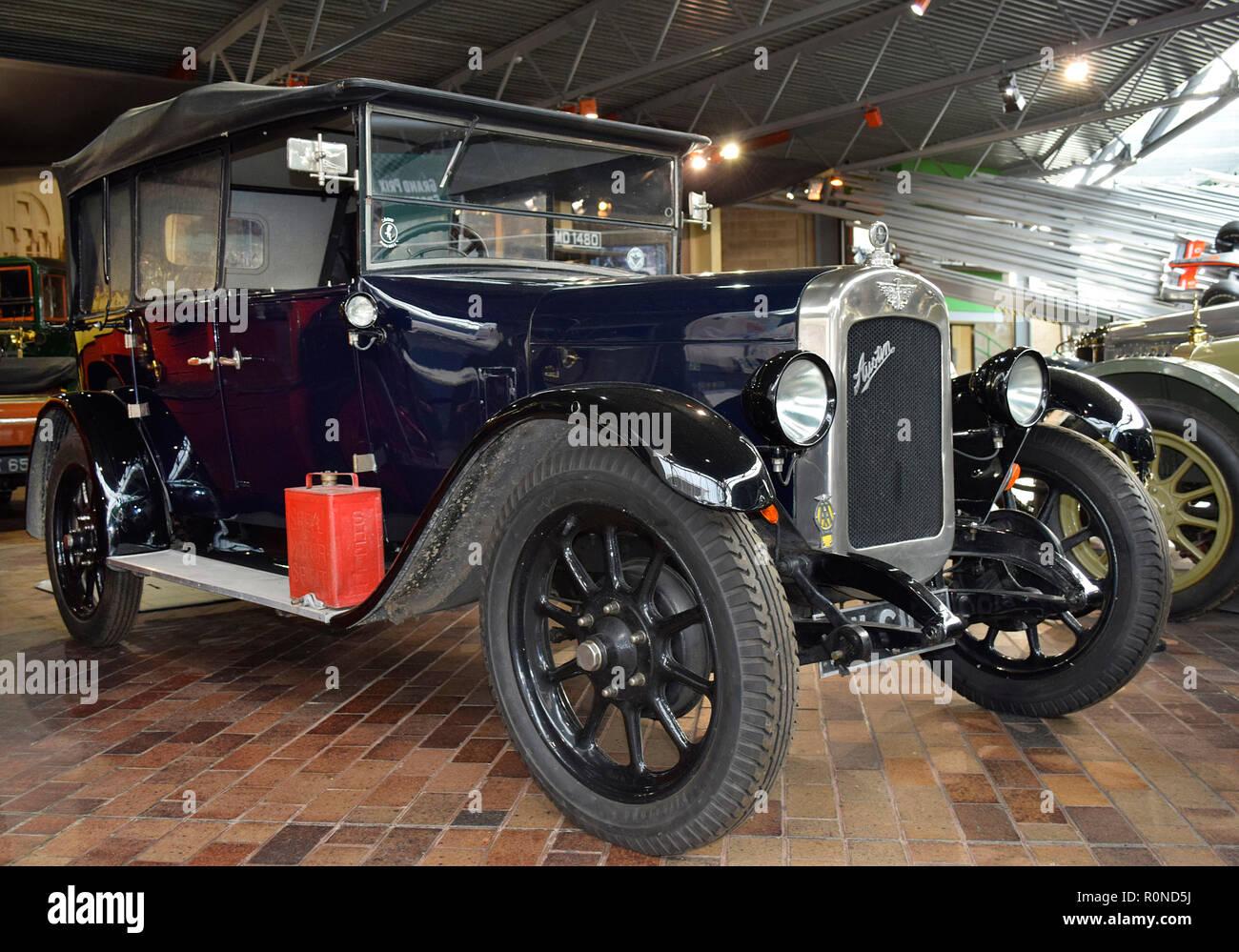 1927 Austin Twelve by Mulliner - Stock Image