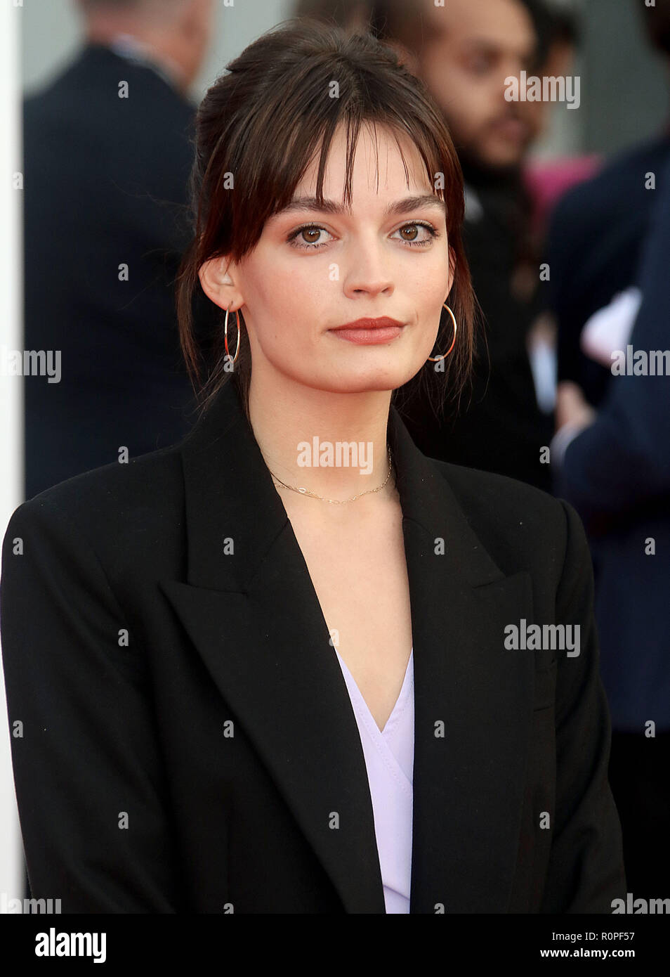 Sep 13, 2018 - Emma Mackey attending The World Premiere Of ...