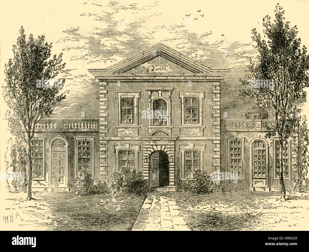 'Barber-Surgeon's Hall (1800)', (c1872). Creator: Unknown. - Stock Image