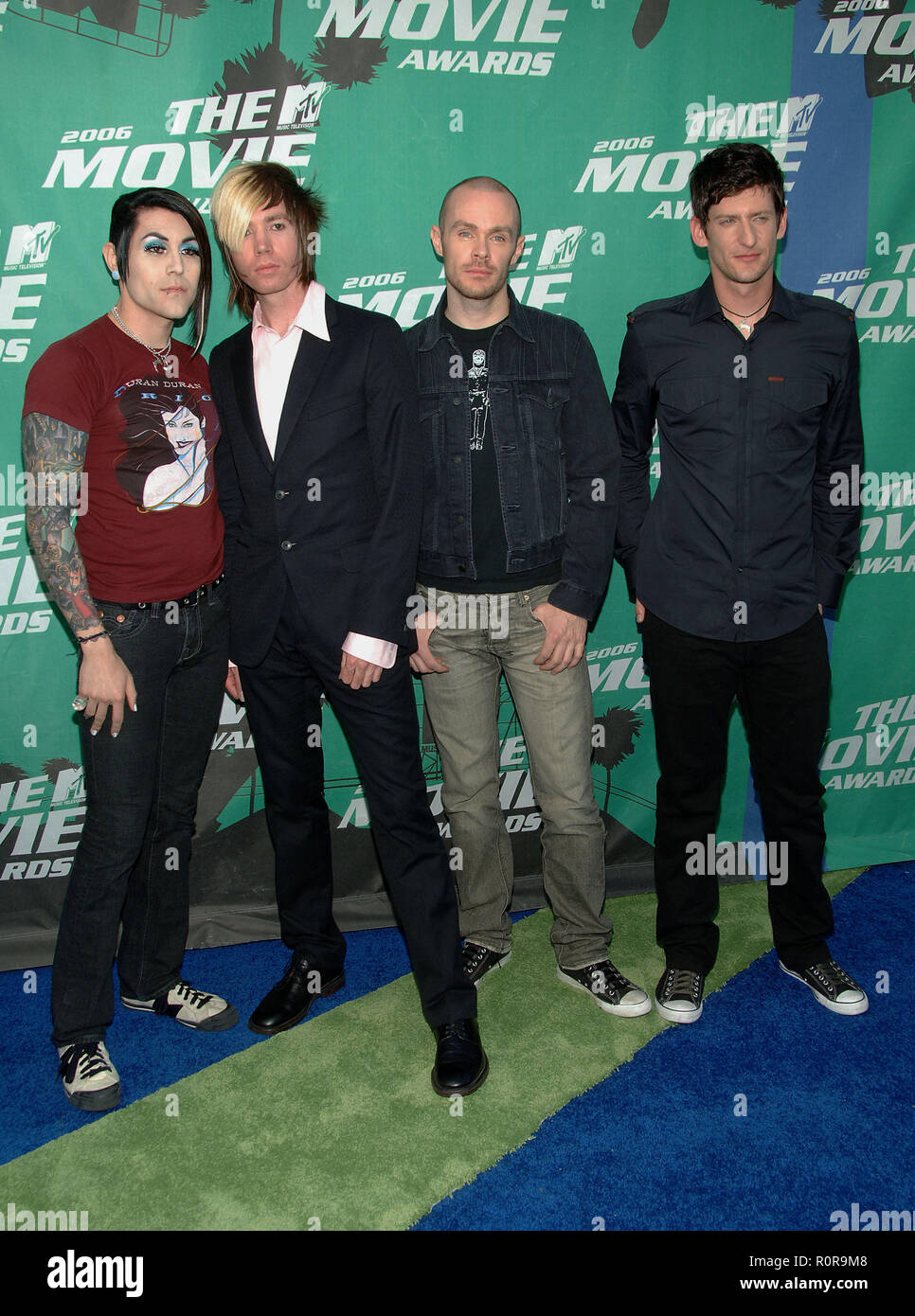 AFI arriving at the MTV Movie Awards at the Sony Lot in Los Angeles. June 3, 2006.          -            AFI_131.jpgAFI_131  Event in Hollywood Life - - Stock Image