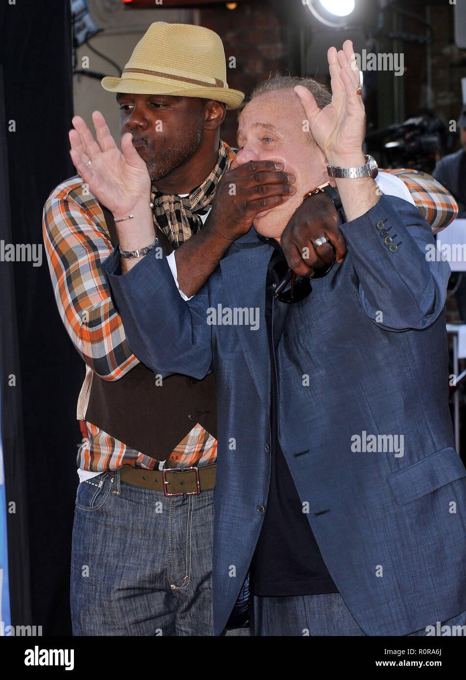 Bolger John Michael and Bentt Michael - Los Angeles Film Festival Public Enemies Premiere at the Westwood Village Theatre In Los Angeles.          -   - Stock Image
