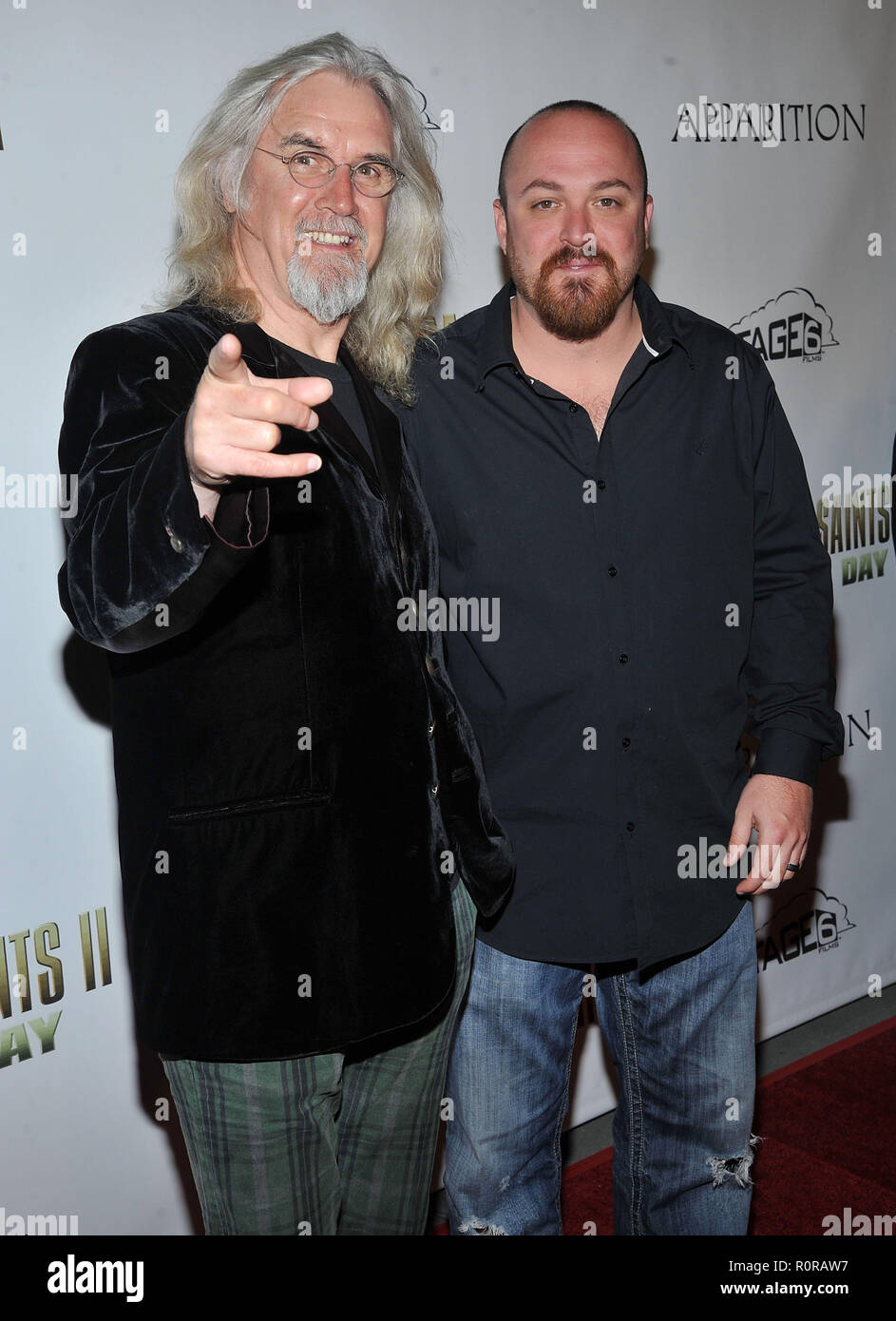 a6c66f1b Billy Connolly and director Troy Duffy - The Boondock Saints II Premiere at  the Arclight Theatre