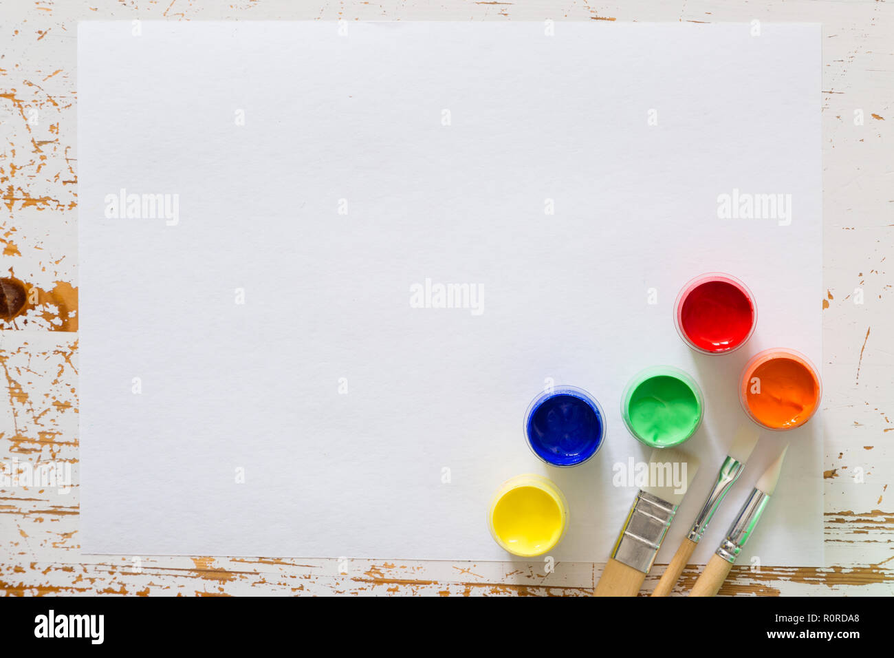 Back to school background concept with stationary Stock Photo