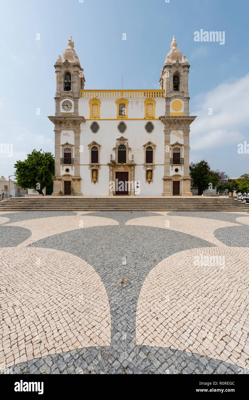 Catholic Church Igreja do Carmo, Faro, Portugal - Stock Image