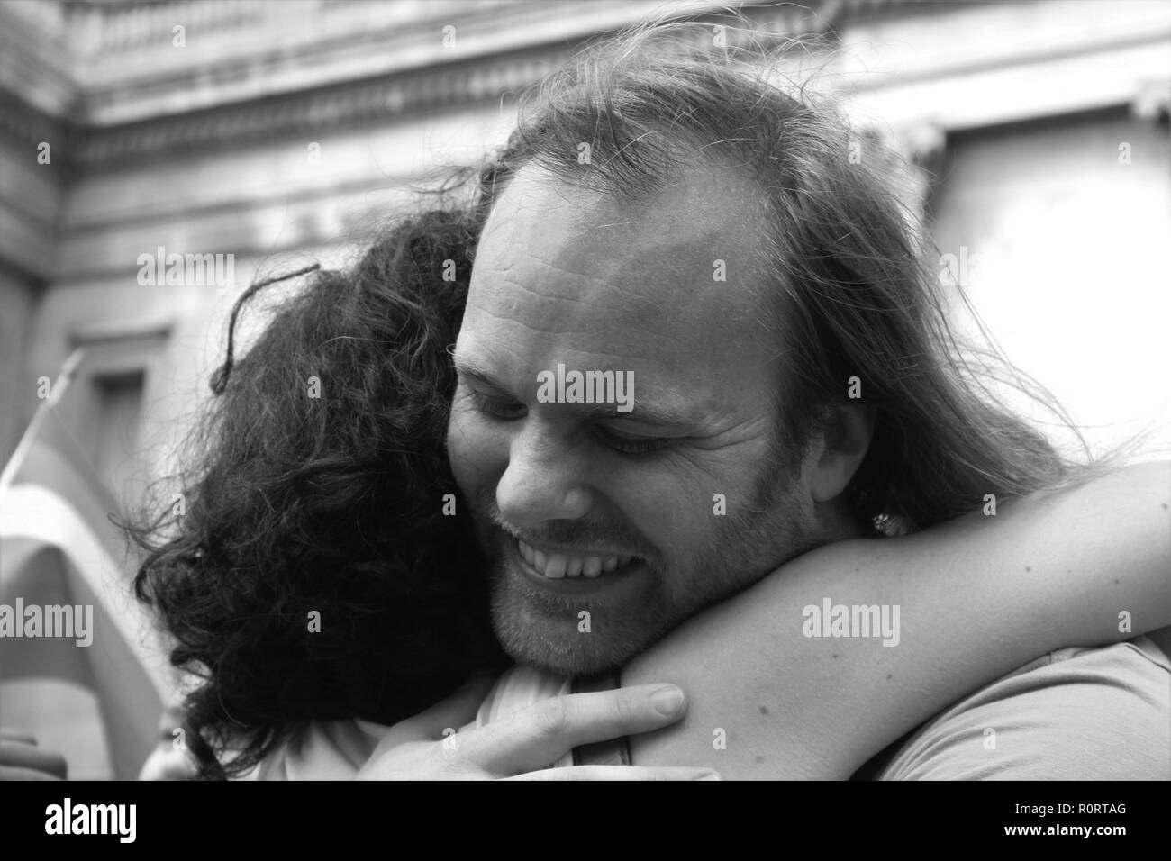 free Hugs London Pride - Stock Image