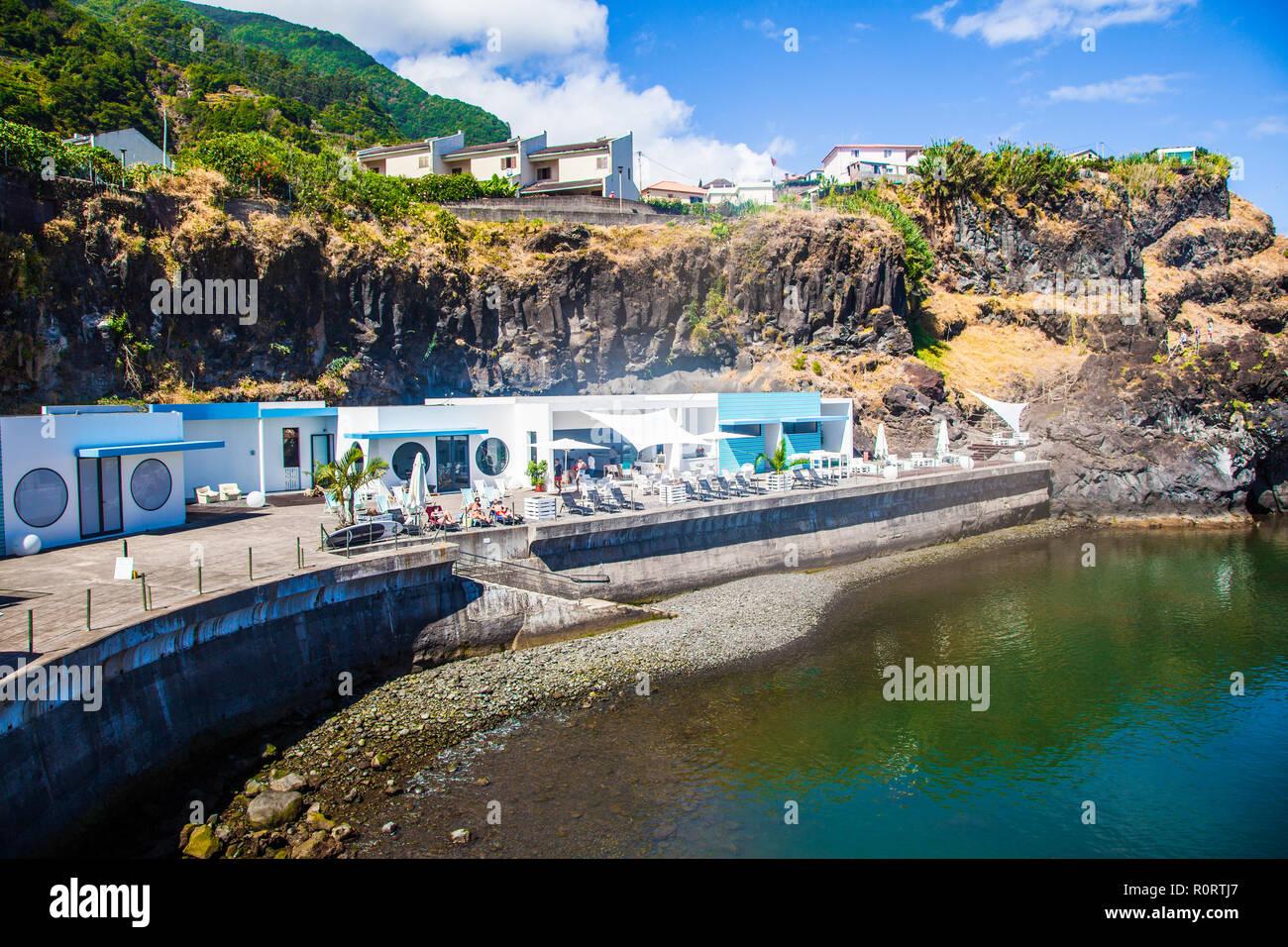 Sexial Lake, Madeira Island, Portugal - Stock Image