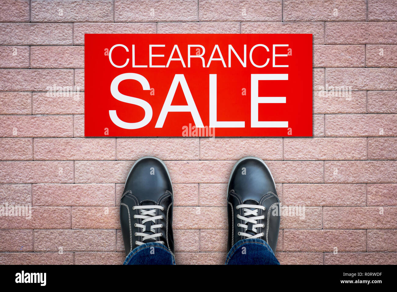 Clearance Sale Advertisement High