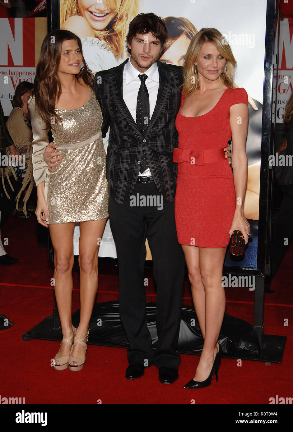 Ashton Kutcher Cameron Diaz And Lake Bell What Happens In Vegas