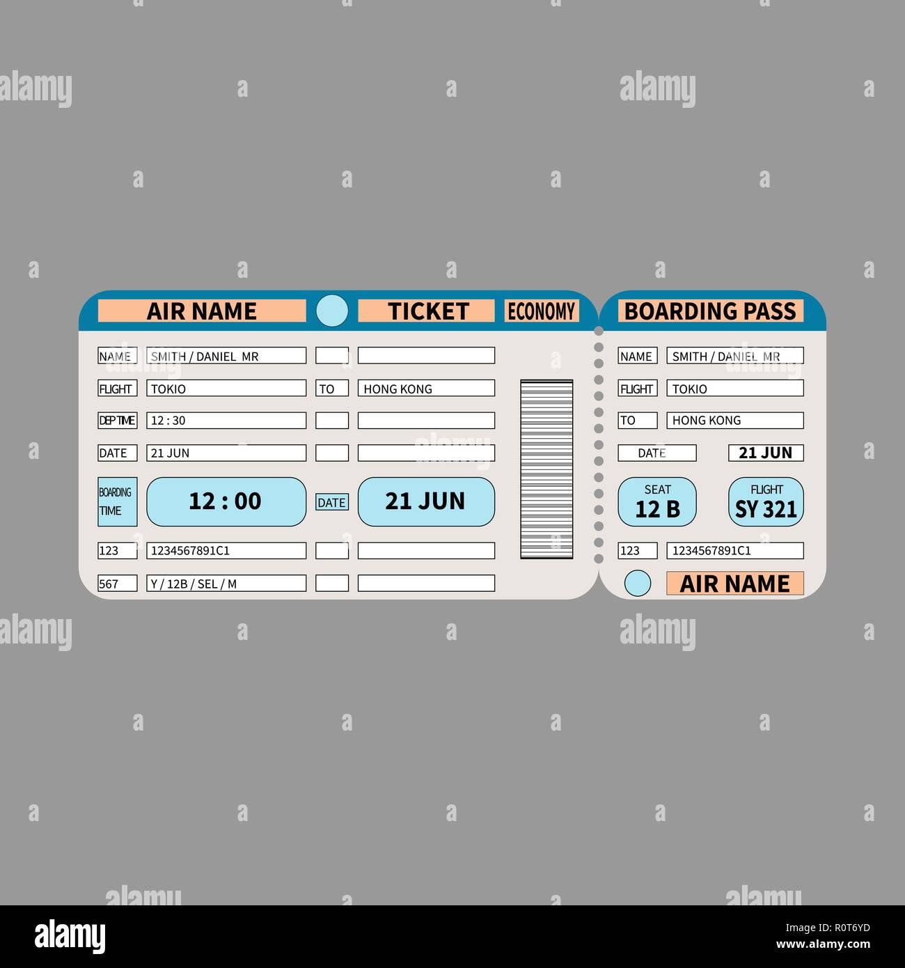 Boarding Pass Barcode Stock Photos Boarding Pass Barcode Stock