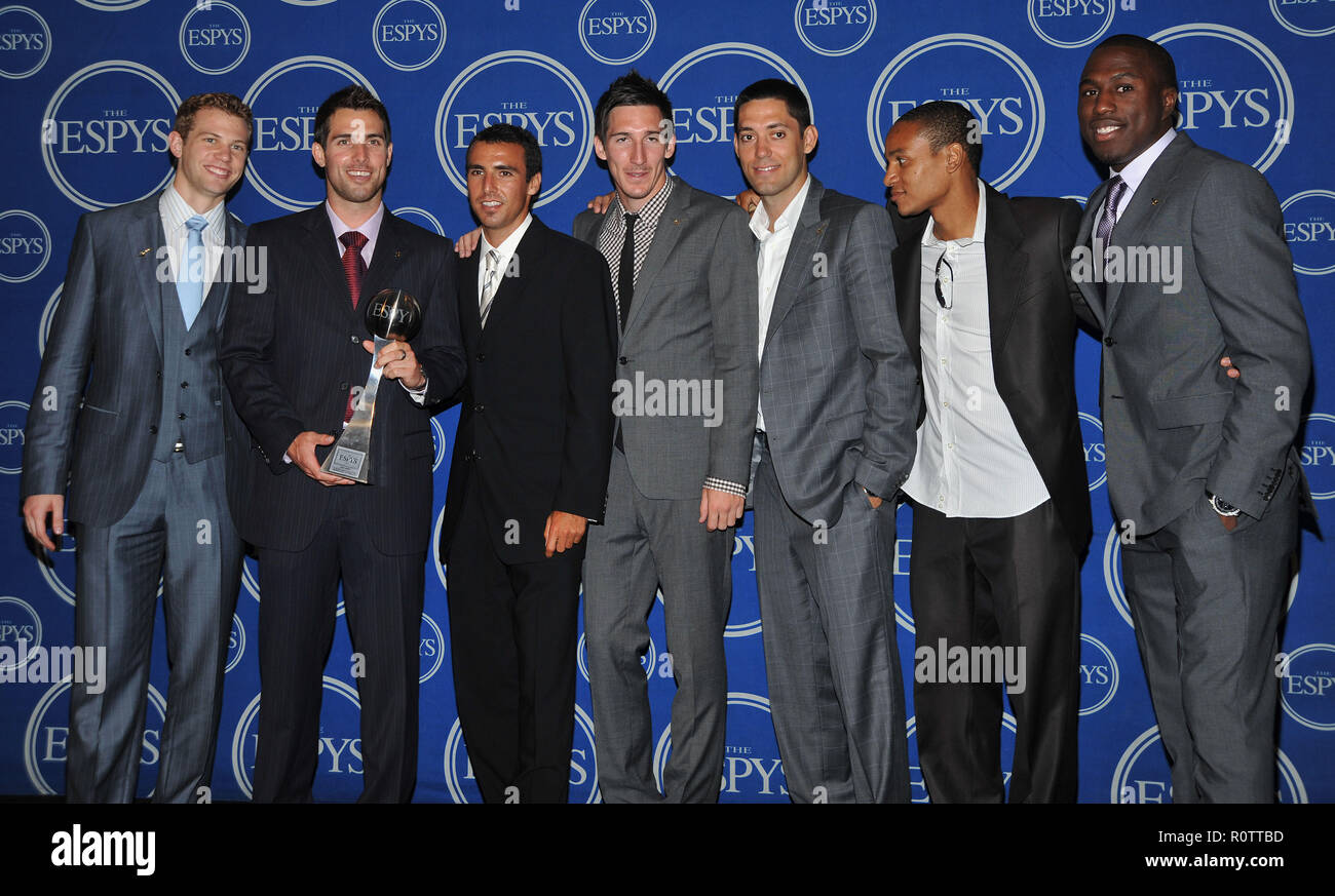 - ESPY Awards 2009 at the Nokia Theatre In Los Angeles.          -            US_SoccerTeam_55.jpgUS_SoccerTeam_55  Event in Hollywood Life - Californ - Stock Image