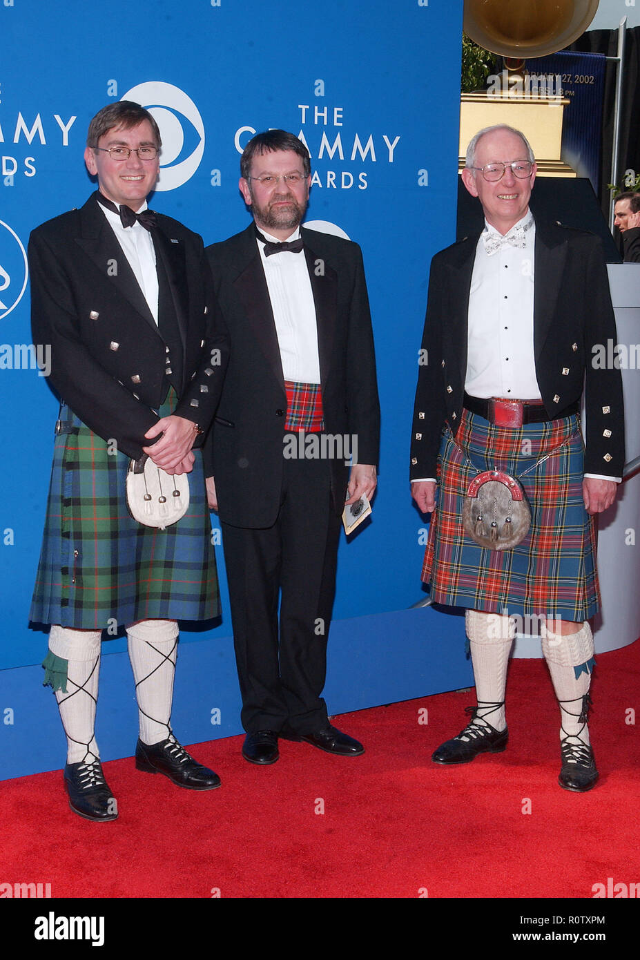 44th Annual Grammy Awards - arrival           -            BBCScottishSymphOrch01.JPGBBCScottishSymphOrch01  Event in Hollywood Life - California, Red - Stock Image